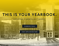 Redesigning the SAHS Yearbook website