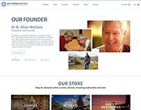 Web Design for SB Institute.