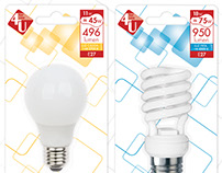 Packaging y marca iluminación