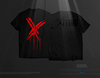 EXFEIND • Bloody X Logo • The T-Shirt