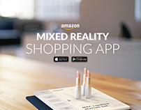 Amazon Mixed Reality Shopping App Concept
