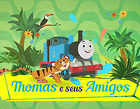 Thomas & Friends Visit Brasil