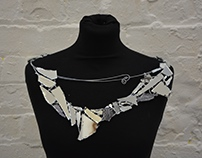 sensationals - mirror neckpiece