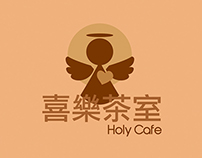 Holy Cafe Restaurant Brand Identity Design