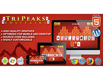 HTML5 Game: Tripeaks Solitaire