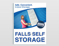Flyer Designs: Falls Self Storage