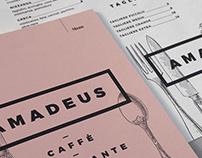 Amadeus - Menù