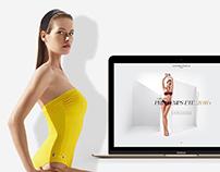 Simone Pérèle webdesign concept