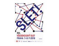 XVIth All-Sokol Slet 2018 – visual identity