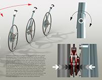 Pro Assist Wheelchair Crank Arm Concept