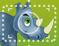 Foto Safari Rhino Game Design