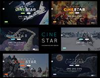 CINESTAR - Film Marketing Responsive Wordpress Html Psd