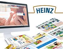 Heinz: web design, banner ads, responsive emails