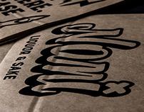 Nomi Liquor & Sake - Brand design