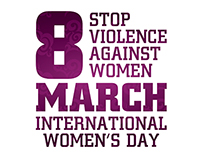 8 March-Stop Violence Against Women