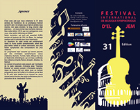 Tri-fold brochure for a Symphony concert