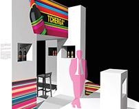 TCHERGA exibition stand