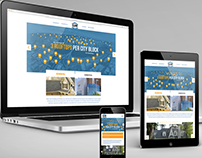 Responsive Website: Clow Roofing