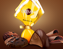 Cremini - logo, packaging concept