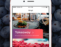 Bringit app — delivery service