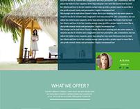 TOUR -webpage design