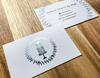 Cakes & Desserts Business Card