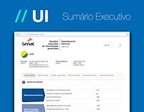 // UI - Sumário Executivo
