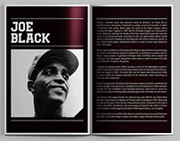 Joe Black // Buck O'Neil Award Pitch