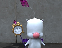 Final Fantasy XIII's Moogle 3D Fan Art