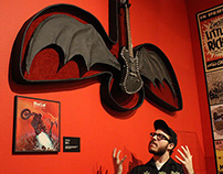 """""""BAT OUT OF HELL"""" GUITAR"""