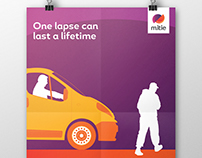 Mitie poster campaign for safety awareness at work
