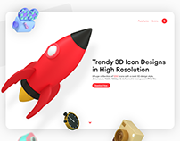 3D Style Icons Pack by iconshock