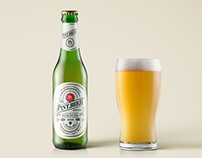 35+ Realistic Beer Bottle & Glass Mockup Templates