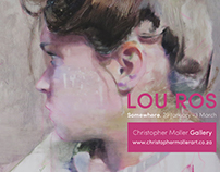 Advertising / Branding / Lou Ros Art Exhibition