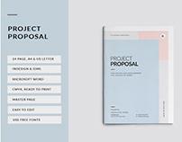 Proposal Brochure - InDesign & Microsoft Word