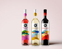 Le Champin, Wine Bottle Packaging Design.