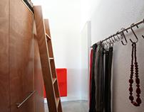 Interior + Furniture design Les Corts Loft, Barcelona