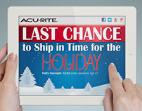AcuRite Holiday Advertising