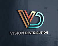 Vision Distribution // Logo Design