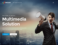 Mount - Business PSD Template