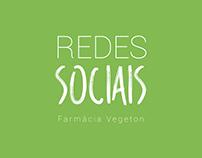 Farmácia Vegeton - Redes Sociais