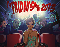 Fridays of the 2013 Pin-Up Calendar