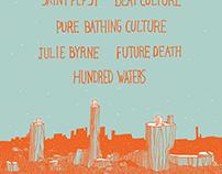 Portals SXSW 2014 Poster and Website