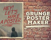 Grunge Poster Maker