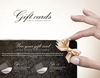 Gift landing website