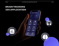 UI Design for a Brain Training iOS Application