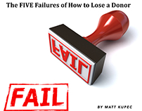 The Five Failures of How to Lose a Donor