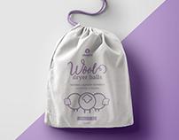 Sheepio Wool Dryer Balls | Branding
