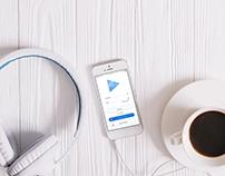 """""""Music"""" Mobil App Design"""