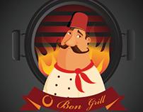 Restaurant logo Design by : idea-ho.com Maher homsi